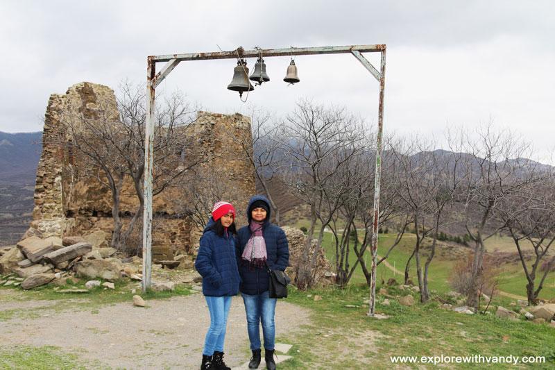 Outside Jvari monastery