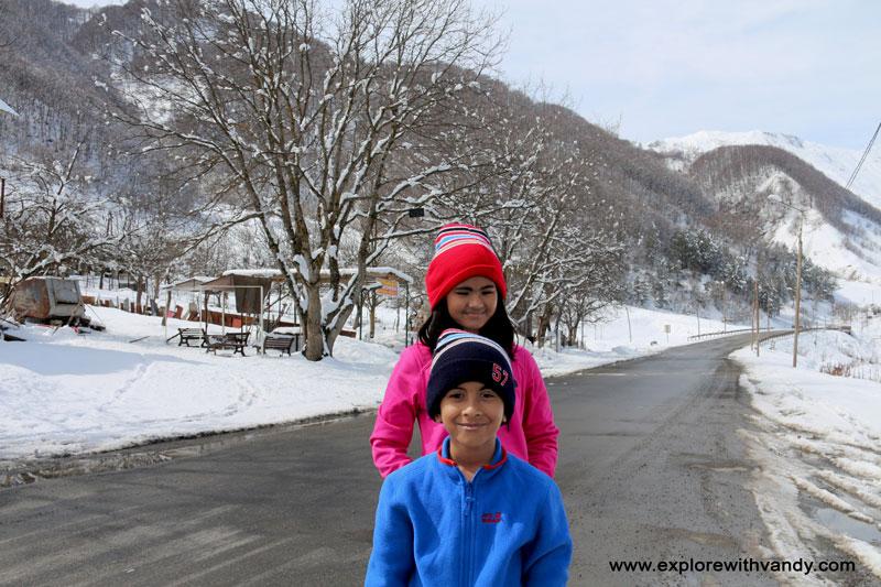 Road to Gudauri