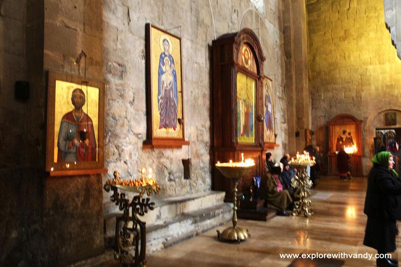 Svetitskhoveli church interior