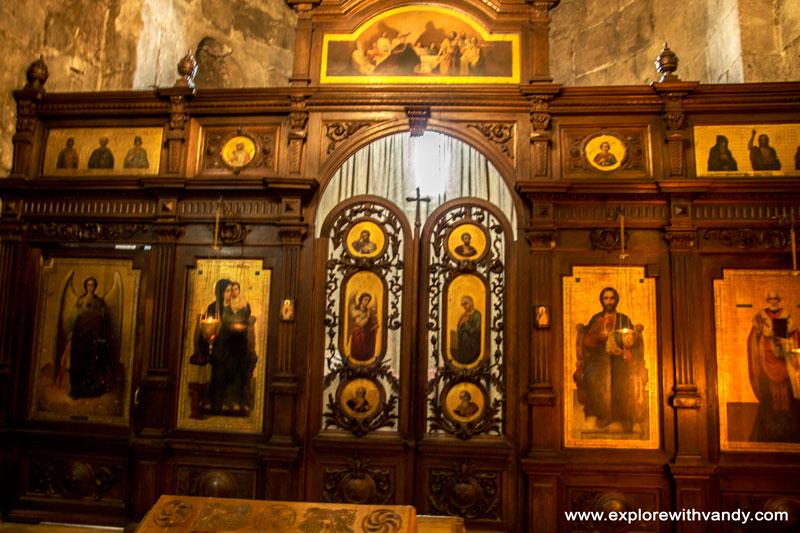 Images inside Svetitskhoveli church