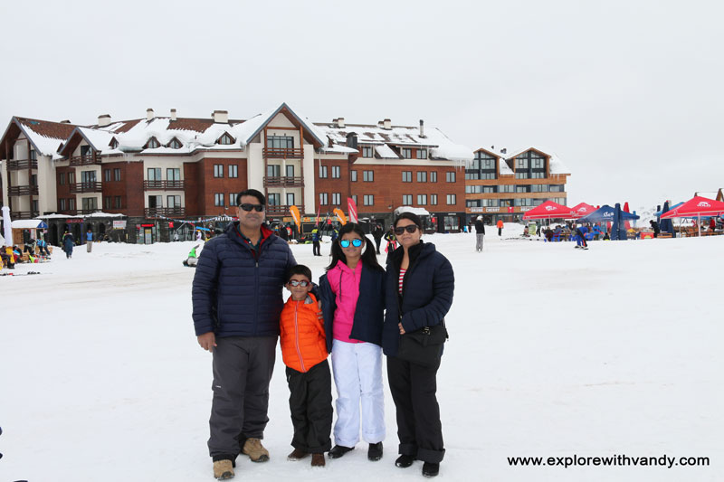 Family picture at new Gudauri