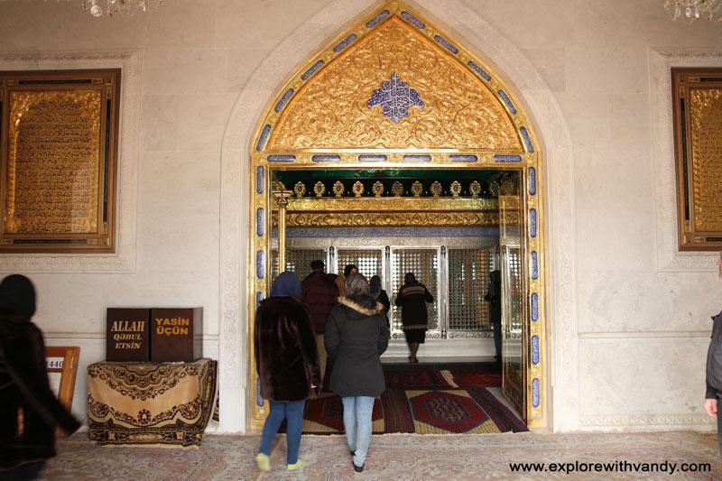 Bibi Heybat Mosque entrance