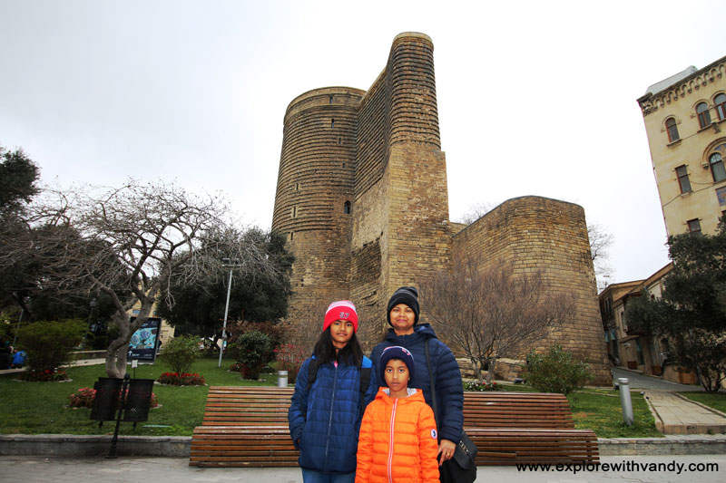 At Maiden Tower