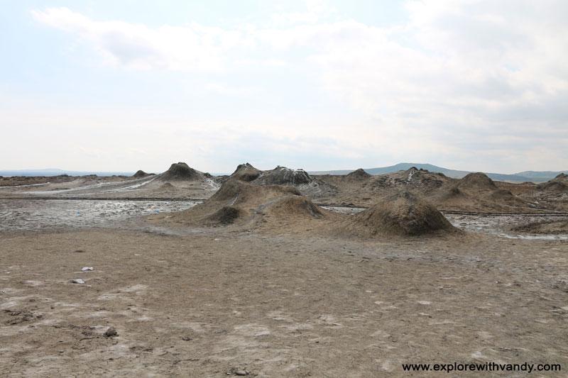 Mud Volcanoes area