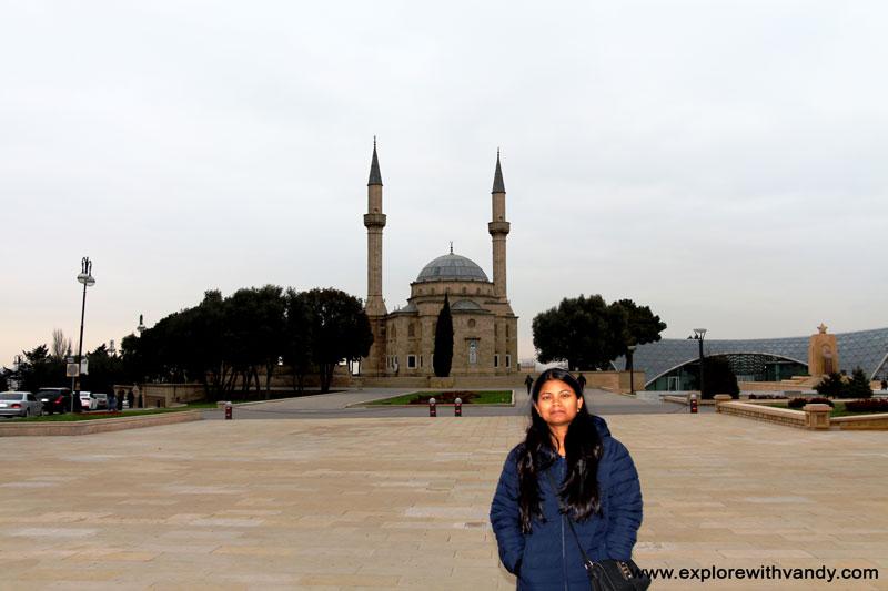 Upland park mosque