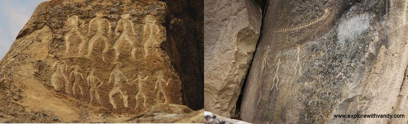 Gobustan petroglyphs