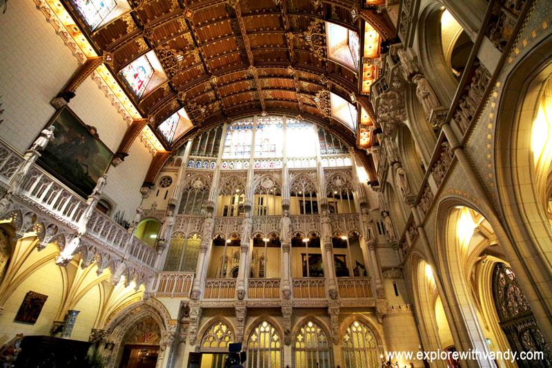 Main hall, Kasteel De Haar