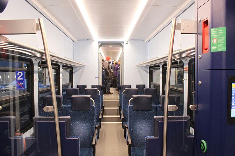 Swiss second class interior