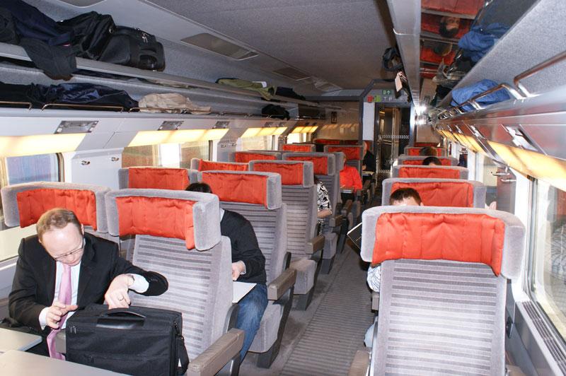 Eurostar Business Premier, Standard Premier