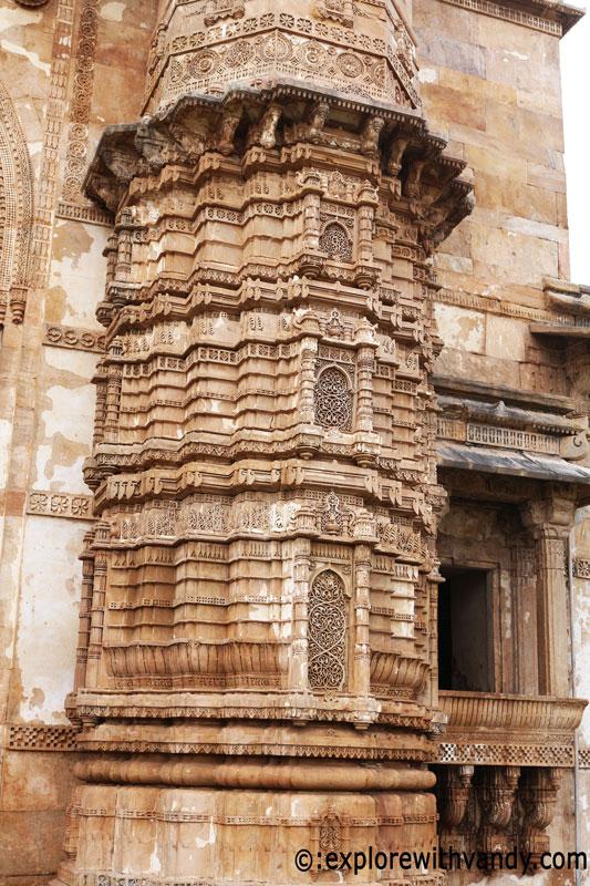 Jami Masjid minarate
