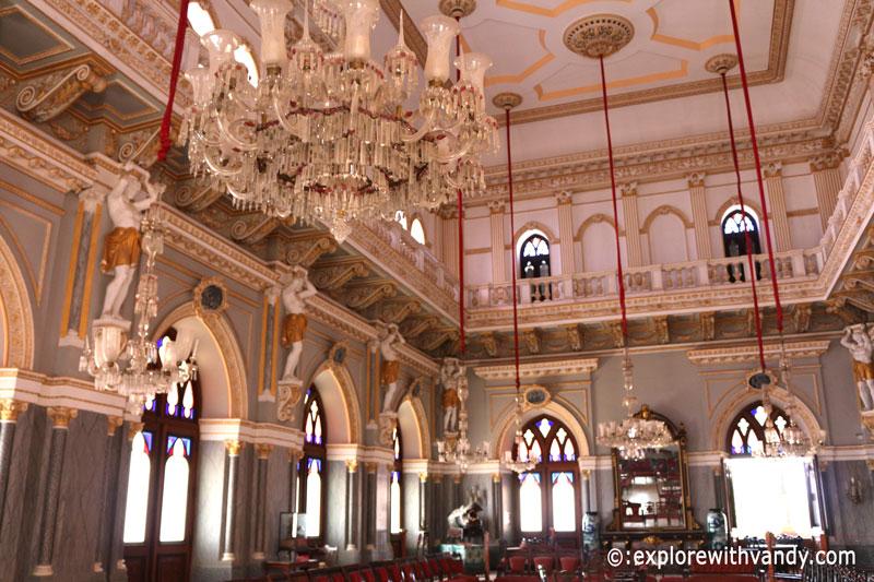 Darbar Hall, Prag Mahal
