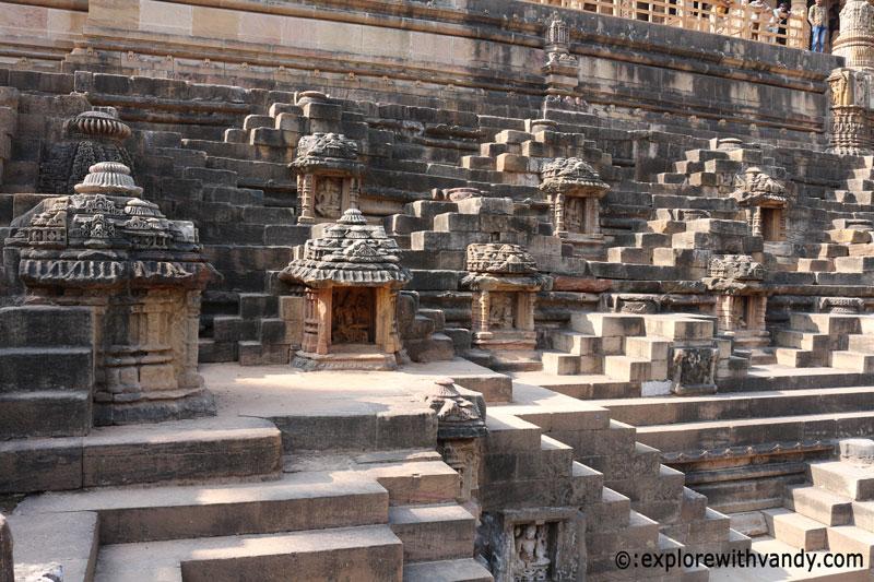 Miniature Shrines in Surya kund
