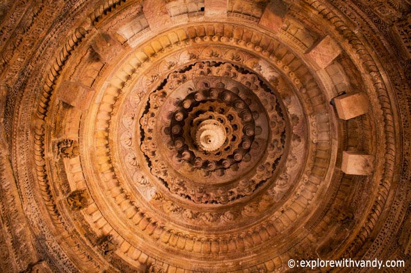 Sabha Mandap Ceiling