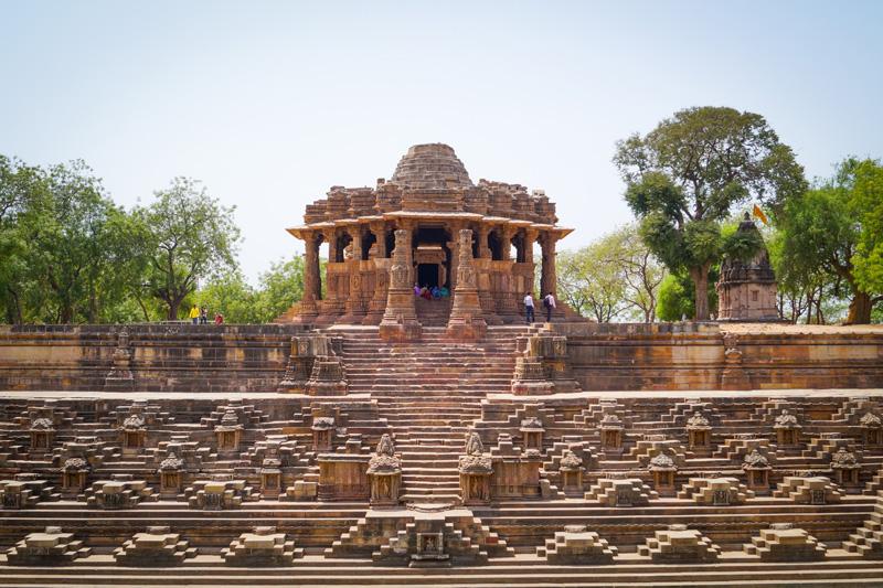 Modhera Sun Temple with step well
