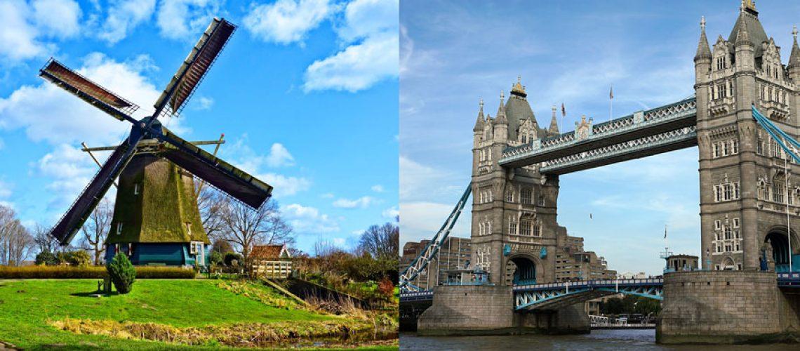 Amsterdam to London